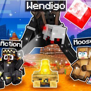 When you see WENDIGO in Minecraft... DELETE YOUR GAME!