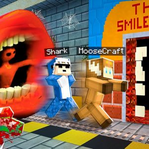 FIVE NIGHTS Inside TRAIN EATER and SMILE ROOM in MINECRAFT!