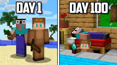 100 Days of PRANKING in Minecraft!