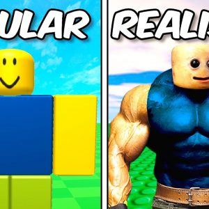 I Survived 100 Days in REALISTIC ROBLOX…