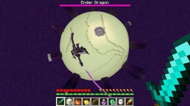 Minecraft, But the WORLD is ROUND