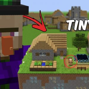 Minecraft, But the World is Tiny...