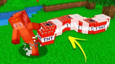 Minecraft, But GRASS KILLS YOU!