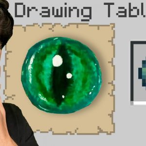 Minecraft, But You Can Draw Items!
